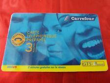 Carte Carrefour Prepayee.Omnicom Ebay