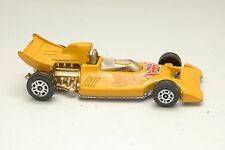 CORGI JUNIORS FORMULE 1 Racer jaune années 70 MOULAGE sous pression