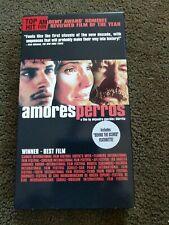 Rare Original Amores Perros, a film by Alejandro Gonzalez Inarritu (almost new)