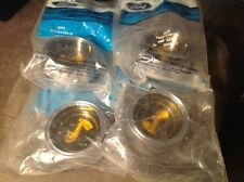 NOS 1969 1970 SHELBY FACTORY FORD WHEEL CENTERS SET OF 4  CENTER CAPS