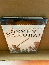 Seven Samurai by Akira Kurosawa's (Dvd, Criterion Collection) Usa/Canada New
