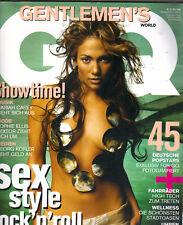 Jennifer Lopez Alemán Gq Revista 5/03 Mariah Carey