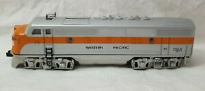 1998 LIONEL 6-18192 WESTERN PACIFIC F3A DIESEL #2355 - POWERED - TESTED, RUNS