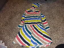 SPLENDID 4/5 STRIPED DRESS
