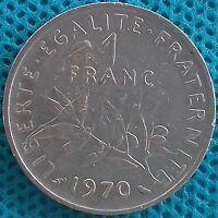 PIÈCE MONNAIE FRANCE 1 FRANCS 1970   Ref : 000253