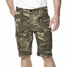 "Mens 'Twisted Gorilla' Cargo Shorts Camo Green Camouflage Waist 36"" BNWT"