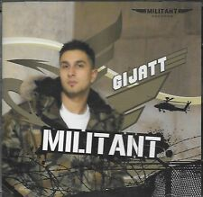 GIJATT - MILITANT - BRAND NEW BHANGRA CD - FREE UK POST