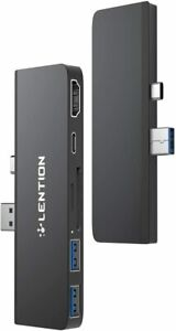 LENTION Multiport USB C 3.0 Hub HDMI Adapter Reader for Microsoft Surface Pro 7