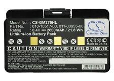 Battery for Garmin GPSMAP 276 276c 296 (p/n 010-10517-01 FREE SHIPPING)