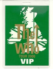 RARE / PASS CONCERT LIVE - THE WHO - ACCES BACKSTAGE : TOUR 2000 VIP