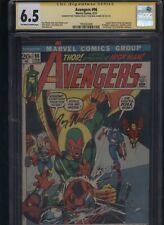 Avengers #96 CGC 6.5 2x SS Neal Adams & Roy Thomas 1972 - KREE-SKRULL WAR