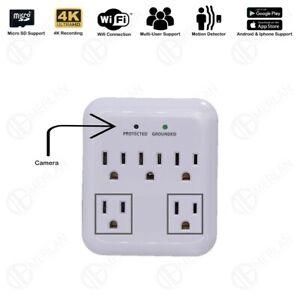 hidden camera wifi plug Utilitech 5-Outlet