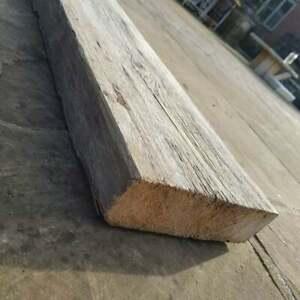 "Rustic Original Pine Distressed Norwegian spruce Boards 3ft x 9"" x 2 1/2"" Timber"