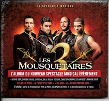 CD DIGIPACK COMEDIE MUSICALE--LES 3 MOUSQUETAIRES--DION/SARGUE/BAN--2016--NEUF