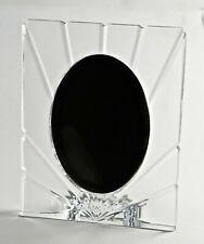 Lead Glass Mounting Frame,Photo Frame,19x24,Oval Cut-Out 4 5/16x6 11/16in (1A9)