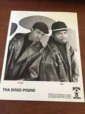 Tha Dogg Pound Rare Promo Press Photo  - 8x10 B&W - Death Row Records