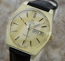 Omega Geneve Calibre 1022 Automatic 1970s Swiss Made Gold Plated Mens Watch MX33