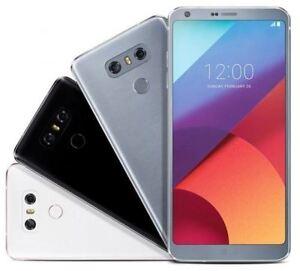 "Unlocked T-Mobile LG G6 H872 GSM 32GB 5.7"" Dual lens Black/Platinum/White Good!"