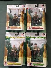Dragon Models 1/18 scale WWII US Army Infantry Italy Set of 4 Action Figures