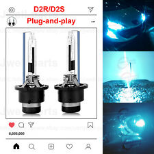D2R D2S HID Xenon Headlight Bulbs High Low Beam Premium Lamp 40W 8000K Blue