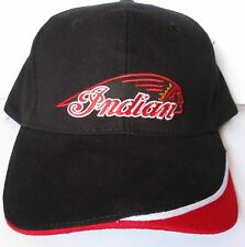 Indian Motorcycles 100% cotton quality cap hat men's shed rider biker