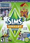 The Sims 3 Town Life Stuff Expansion for PC and MAC Brand New Sealed