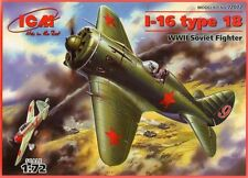 POLIKARPOV I 16 TYPE 18 (SOVIET AF & SOVIET NAVY MARKINGS) 1/72 ICM