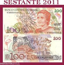 BRAZIL, BRASILE , BRASILIEN  - 100 CRUZEIROS 1990 - P. 228 - FDS/UNC