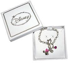 Disney - Bracelet Minnie - Rhodium - Strass - Bijou - Rose