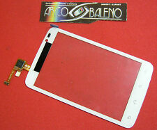 VETRO + TOUCH SCREEN per ALCATEL ONE TOUCH OT991 991D OT LCD DISPLAY BIANCO 991