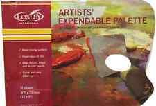 """Artista 12 """"X 9"""" usa e getta carta incerata tavolozza PAD olio & acrilico PP912 pitture"""