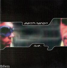 Earth Nation - Live - CD NEU OVP - EYE Q RECORDS '96 - TRANCE TECHNO