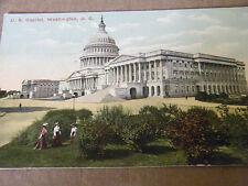 VINTAGE POSTCARD U. S. CAPITOL, WASHINGTON D.C.