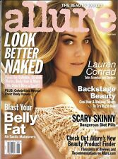Allure magazine Lauren Conrad Look better naked Backstage beauty Body makeovers