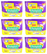 168 Pannolini PAMPERS PROGRESSI Pannolini Bambini taglia 1 Newborn 2-5 kg NUOVI