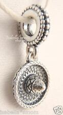 SOMBRERO Authentic PANDORA Silver MEXICAN Hanging DANGLE Charm/Bead 791364 NEW