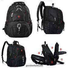 """15"""" Original Waterproof Swiss Gear Men Travel Bags Macbook Laptop Hike Backpack"""