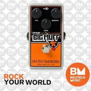 Electro-Harmonix EHX Op-Amp Big Muff Pi Fuzz Effects FX Effects Pedal