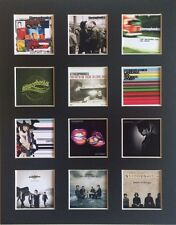 "STEREOPHONICS DISCOGRAPHY 14"" BY 11"" LP COVERS PICTURE MOUNTED READY TO FRAME"