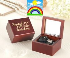 ♫ Somewhere Over The Rainbow ♫ Handcraft Wooden Mirror Music Box