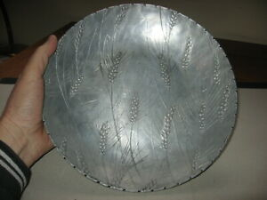 Rahr Malting Co. Wendell August Forge Hammered Aluminum Bowl With Barley