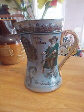 "Antique Royal Doulton Izaak Walton ""Compleat Angler"" Fisherman Pitcher"