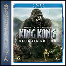 King Kong 5053083106676 With Jack Black Blu-ray / Ultimate Edition Region B
