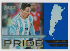 2015-16 Panini Select Soccer National Pride Blue Lionel Messi 171/299