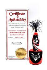 Genuine Star Wars Darth Vader Kookys Kollectible Limited Edition Pen and Display