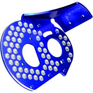JConcepts 2319-1 RC10 Aluminum Rear Motor Plate Honeycomb Blue