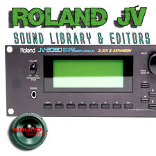 for Roland JV-Series (JV-1010/1080/2080) Factory and New Created Sound Library