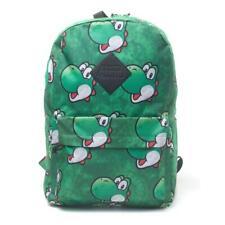 NINTENDO Super Mario Bros. Yoshi Face Sublimation Backpack Green BP365318NTN