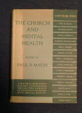 1953 The Church and Mental Health by Paul B. Maves w/DJ FREE SHIPPING