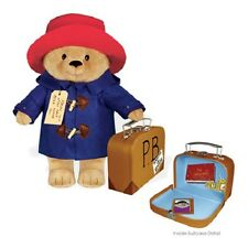 "Yottoy Classic PADDINGTON BEAR w/Suitcase Soft Toy - 16"" #531 - New with Tags"